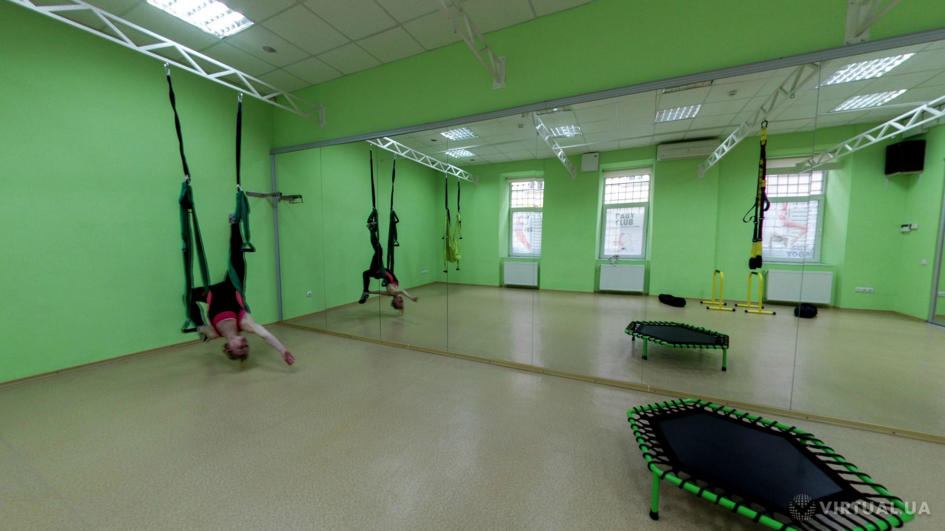 Kiwi-Fitness Sports club on the Stefanyka street, photo